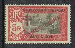 INDE N°170 N** FRANCE LIBRE - Used Stamps