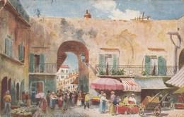 Illustrateur  - NICE - Entrée De La Poissonnerie - Raphael Tuck 990/102 - Gros Pli - Tuck, Raphael