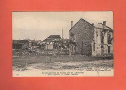 * CPA..dépt 51..REIMS : Bombardement Par Les Allemands..Rue Charlier..n°104 : Voir 2 Scans - Reims
