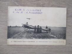 CPA CENTRE D'AVIATION MILITAIRE DE MAUBEUGE AVIONS - 1914-1918: 1st War