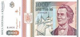 RUMÄNIEN 1000 LEI 1992 P-102a I (BFR) [RO102] - Romania