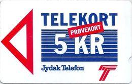 Denmark - Jydsk - Brabrand Test Card - 5Kr - 1JYDA - 1988, 10.000ex, Used - Denmark