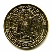 Monnaie De Paris Montmartre, Mosaïque Du Sacré-Coeur  2008 - Monnaie De Paris