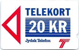 Denmark - Jydsk - Brabrand Test Card - 20Kr - 1JYDB - 1988, 12.000ex, Mint - Denmark