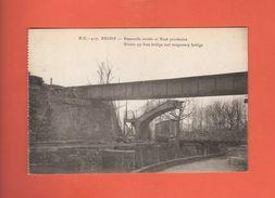 * CPA..dépt 51..REIMS :  Passerelle Sauté Et Pont Provisoire..n°417 : Voir 2 Scans - Reims
