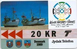 Denmark - Jydsk - World Masters Games - GPT- 20Kr - 2JYDA - 1989, 4.500ex, Used - Denmark