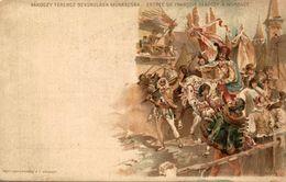 HUNGRÍA // HUNGARY.  Budapest, Rakoczy Ferencz Bevonulasa Munkacsra, Entree De Francois Rakoczy A Munkacs - Hongrie