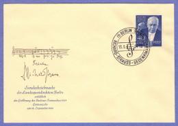 BER SC #9N111 1954 Richard Strauss, Composer FDC 09-18-1954 - [5] Berlin