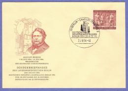 BER SC #9N112 1954 August Borsig, Industrial Leader FDC 09-25-1954 - [5] Berlin
