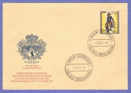 BER SC #9NB13 1955 S-P/Prussian Field Postilion FDC 10-27-1955 - [5] Berlin