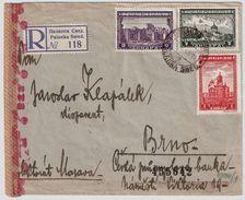 Serbien, 1943, Reco-Brief, #8397 - Occupation 1938-45