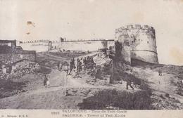 Salonique Tour De Yedi Coule 1918 - Grecia