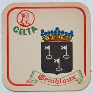 Sous-bock CELTA 35 Gembloux (armoiries Blason City Emblem Stadswapen) Bierdeckel Bierviltje Coaster (CX) - Sotto-boccale
