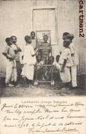 LAMBARENE CONGO FRANCAIS LECON DE CALCUL ETHNOLOGIE AFRIQUE - Congo Français - Autres