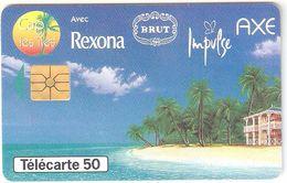 France-Rexona-Brut-Impulse-Axe,02/1996,used - France