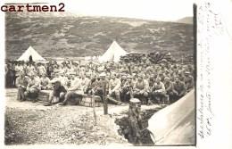 CARTE PHOTO : MACEDOINE DZUMA THEATRE REVUE DU TRAIN REGIMENTAIRE DU 260e REGIMENT GUERRE D'ORIENT GRECE GREECE - Macédoine