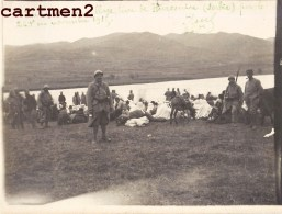 PHOTO ANCIENNE : MACEDOINE SERBIE EVACUATION VILLAGE TURC DE HURESNIRA GRECE GREECE GUERRE D'ORIENT TURKEY TURQUIE - Serbie