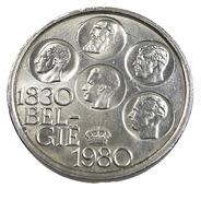 500 Francs - Belgique - 1980 - Argent  200/00 - TB+ - - 1951-1993: Baudouin I