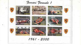 Angola 1987 Blocchi Ferrari Nuovi See Scans - Angola