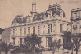 ALGERIE. BONE. CPA. L'HOTEL DE VILLE.  ÉCRITE ANNÉE 1906 - Andere Städte