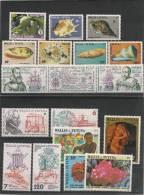 WALLIS ET FUTUNA  Année 1986 Complète  N°335/352** Côte 37,40 € - Wallis And Futuna