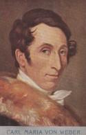 Carl Maria Von Weber German Composer - Cantanti E Musicisti