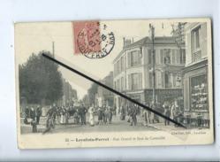 CPA  - 55 -  Levallois Perret  - Rue Gravel Et Rue De Cormeille - Levallois Perret
