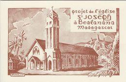 Madagascar - Projet De L`eglise  St. Joseph A Beolonono.  # 06455 - Madagascar