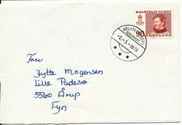 Greenland Cover Sent To Denmark Holsteinsborg 2-3-1976 - Unclassified