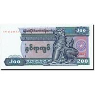 Myanmar, 200 Kyats, Undated (1991-1998), KM:75a, NEUF - Myanmar