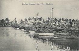 Senegal.  Pont De Bateaux A Guet N´Dar  (Senegal).    S-3575 - Senegal