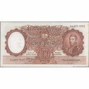 TWN - ARGENTINA 272f - 100 Pesos 1954-68 Serie C - Signatures: Fabregas & Otero Monsegur XF+ - Argentina