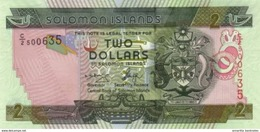 SOLOMON ISLANDS 2 DOLLARS ND (2006) P-25 UNC [SB215a] - Salomons