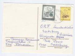 1991 Fresach AUSTRIA 50g Zillertal Stamps On UPRATED 4s SUNDEW FLOWER Postal STATIONERY CARD Cover Flowers - Stamped Stationery