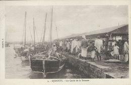 Djibouti - Les Quais De La Douane.    S-3580 - Djibouti