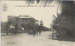 Djibouti - La Route D`Amboail.      S-3581 - Djibouti