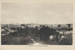 Djibouti - La Ville Européenne.      S-3582 - Djibouti