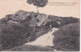 CPA Forêt De Paimpont - Beauvais - Rochers Et Cascade Du Moulin De Chatenay (29292) - Paimpont
