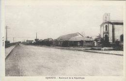 Djibouti - Boulevard De La République      S-3583 - Djibouti