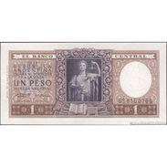 TWN - ARGENTINA 263b - 1 Peso 1951 Serie D - Signatures: Real & Alizon Garcia AU - Argentina