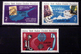 TURKISH REP OF NORTHERN CYPRUS  # 71-73.  Europa - Communications.   MNH (**) - 1979