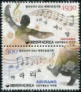 Korea South. 2014. PHILAKOREA 2014 World Stamp Exhibition (MNH OG **) Block Of 2 Stamps [DLC.ST-003150] - Corée Du Sud