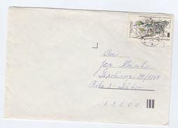 CZECHOSLOVAKIA COVER  Stamps FROG - Czechoslovakia