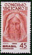 Brasilien 1966. Mi: 1108 ** Aéreo - Flugpost - Christianisme