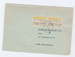 1976 NETHERLANDS  COVER Multi LOTTERY ANNIV Stamps - Period 1949-1980 (Juliana)