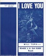 Will Tura  - I Love You - Music & Instruments