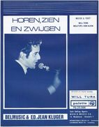 Will Tura - Horen, Zien En Zwijgen - Vocals