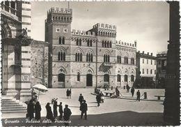 Y3877 Grosseto - Palazzo Della Provincia - Animata / Viaggiata 1953 - Grosseto