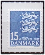 DENEMARKEN 2010 15kr Rijkswapen Blauw PF-MNH - Ungebraucht