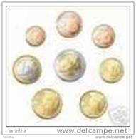 @Y@    Finland  1 Ct   T / M 2 Euro 2013     UNC  8 Coins - Finland